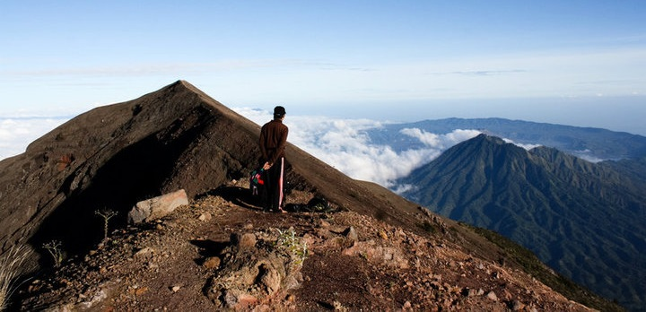 Beklimming vulkaan 1-4 pers